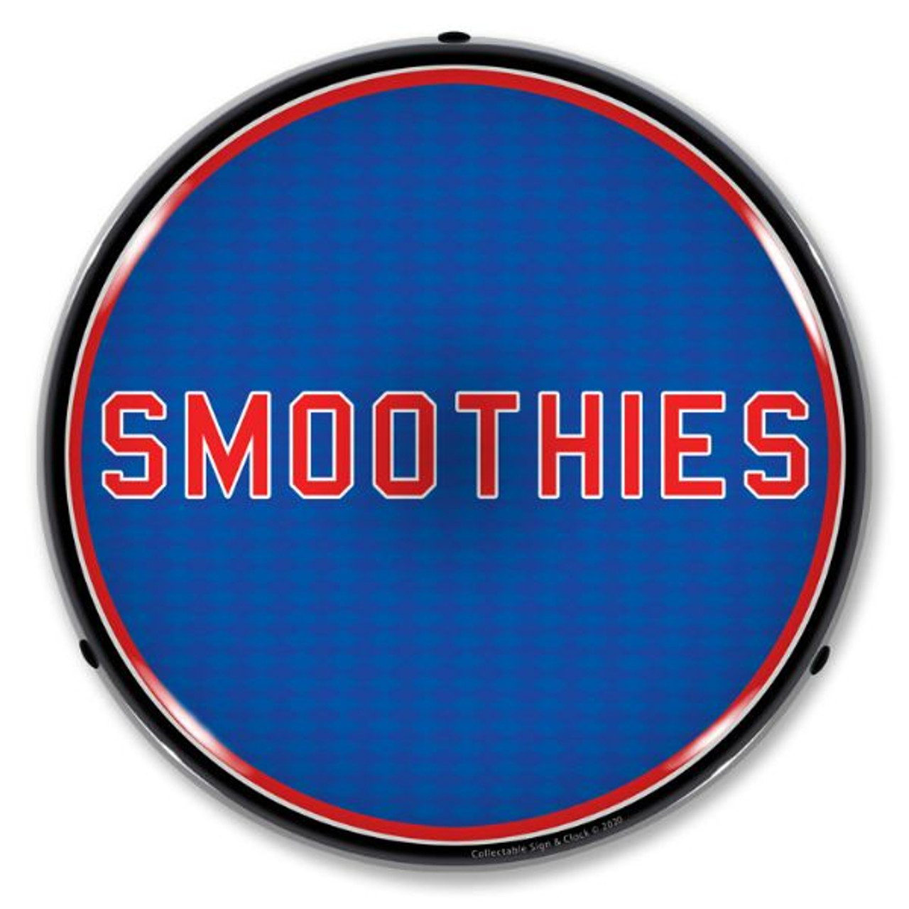Smoothies LED  Lighted Business Sign 14 x 14 Inches