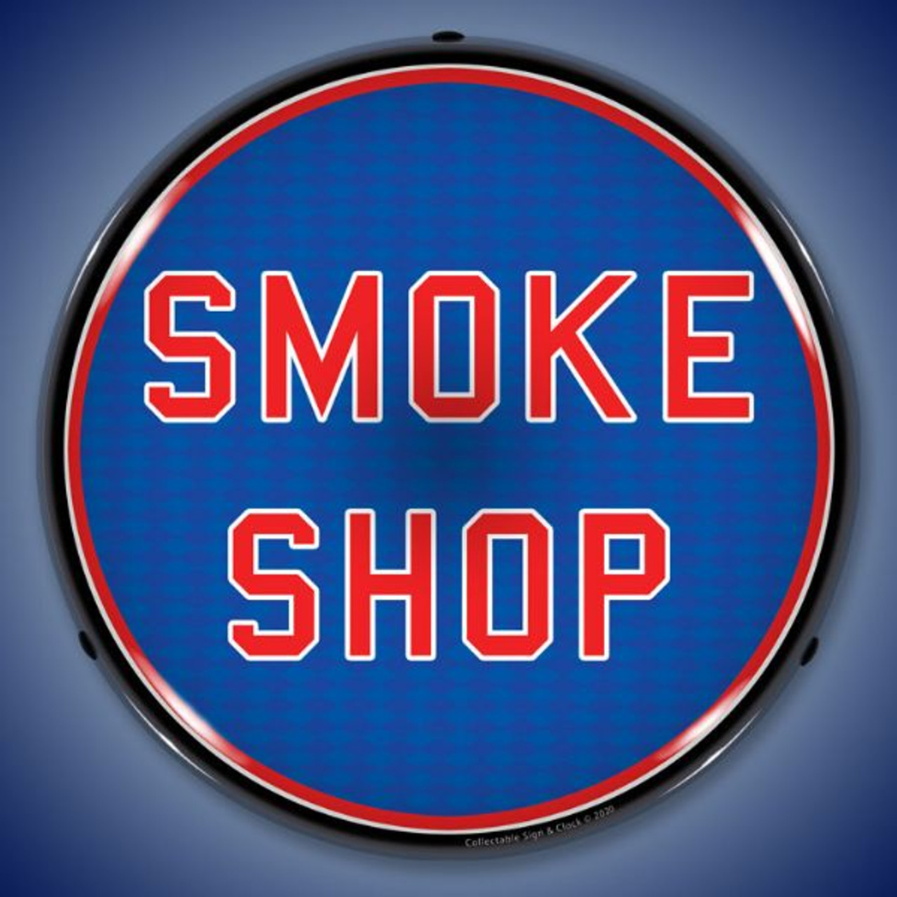 Smoke Shop LED Lighted Business Sign 14 x 14 Inches