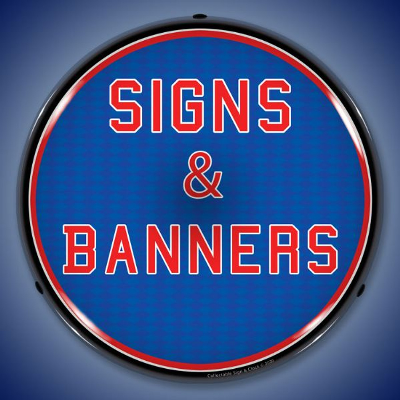 Signs & Banners LED Lighted Business Sign 14 x 14 Inches
