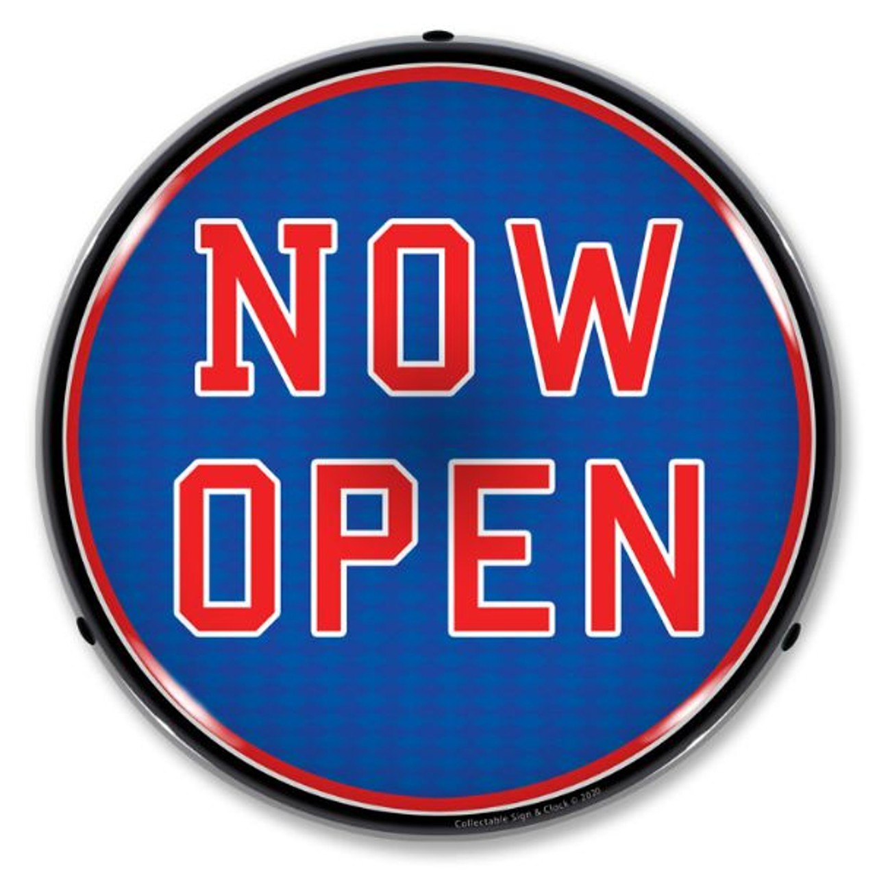 Now Open LED Lighted Business Sign 14 x 14 Inches