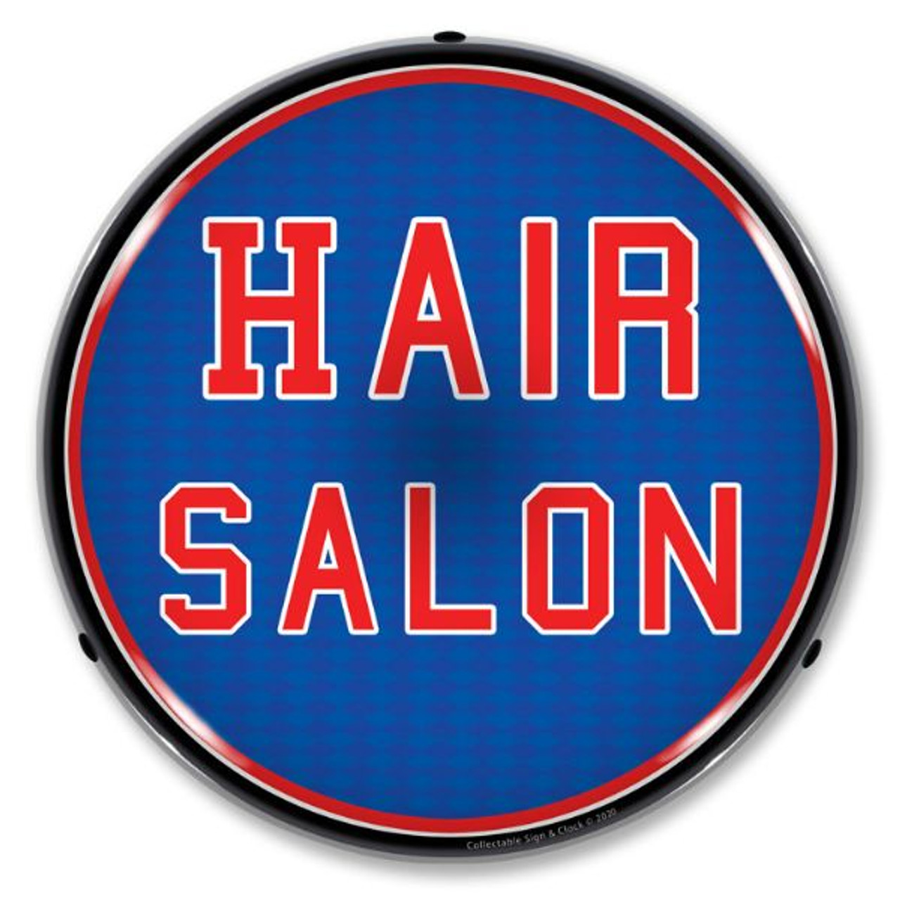 Hair Salon LED Lighted Business Sign 14 x 14 Inches
