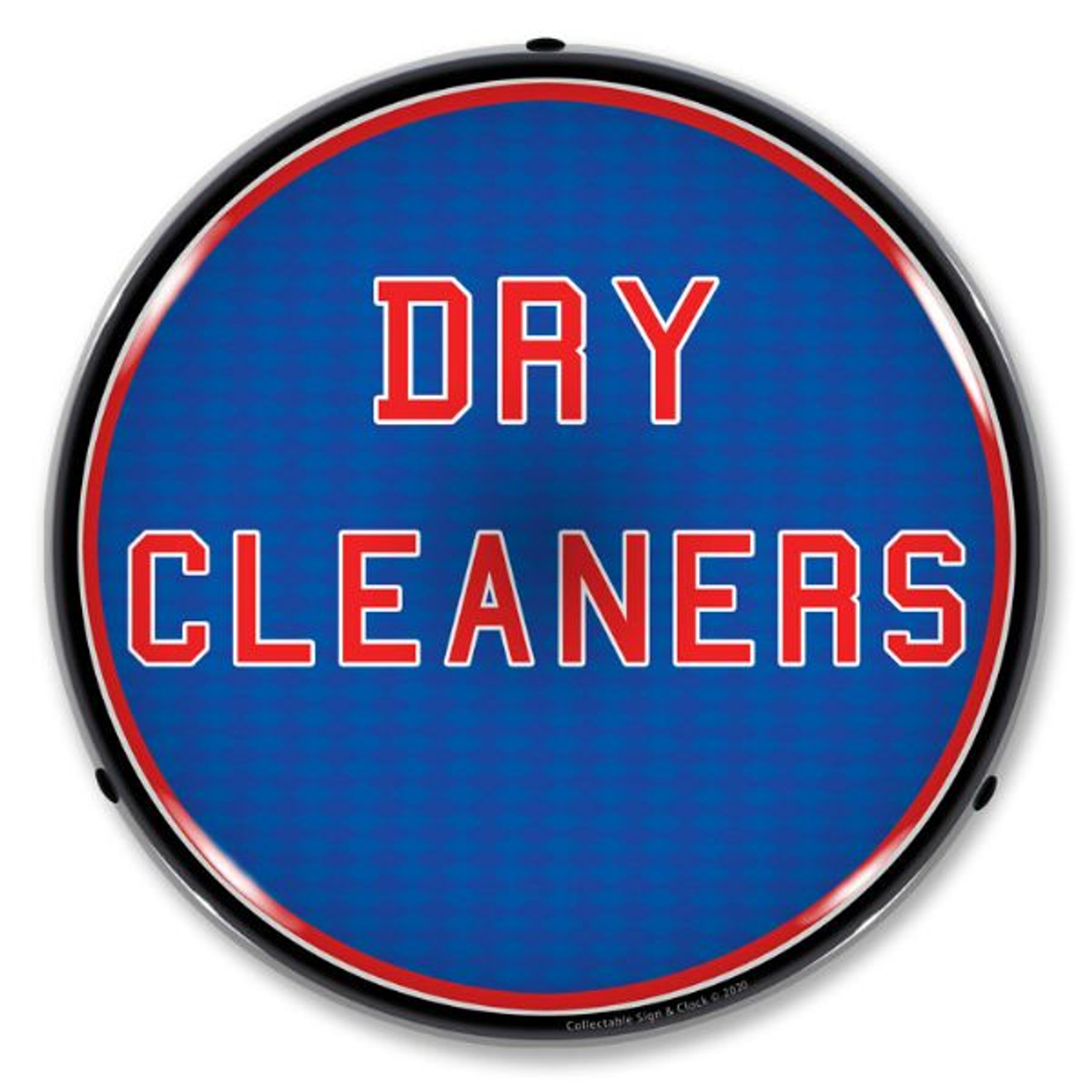 Dry Cleaners LED Lighted Business Sign 14 x 14 Inches