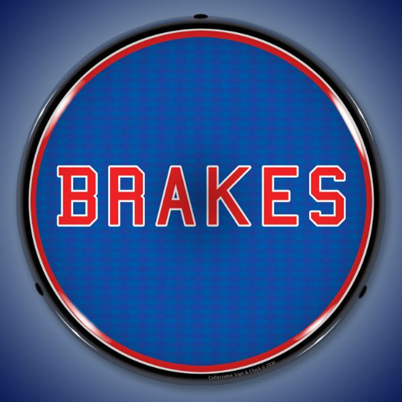 Brakes LED Lighted Business Sign 14 x 14 Inches