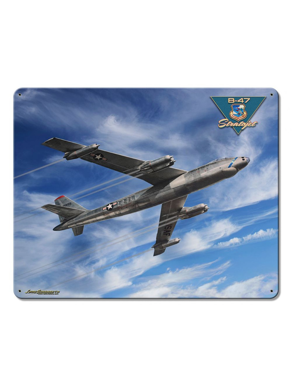 B-47 Stratojet Metal Sign 15 x 12 Inches