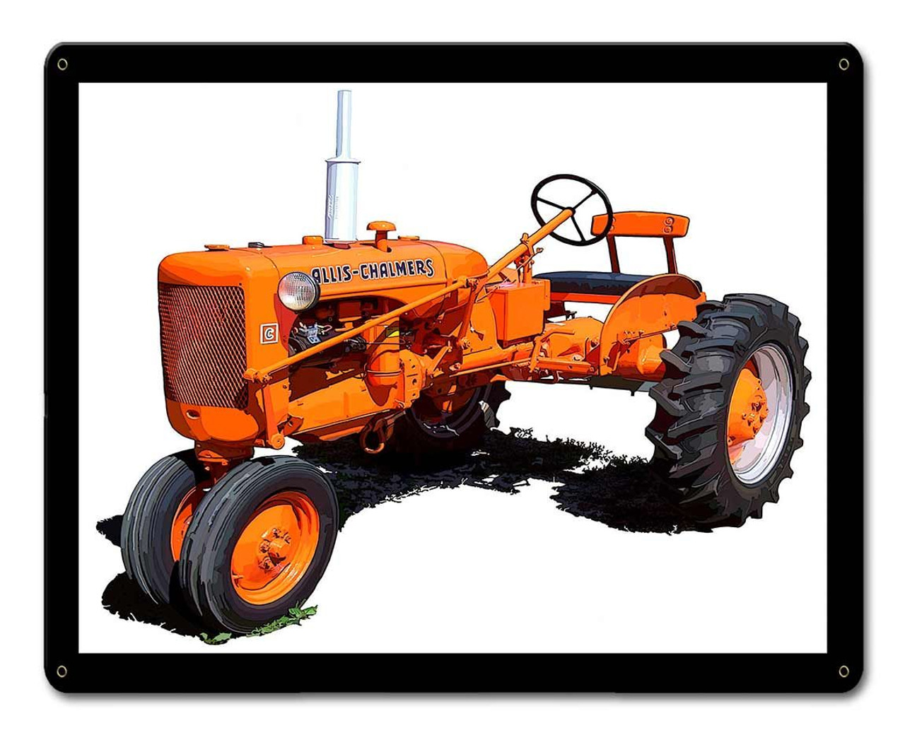 Allis Chalmers Model C Metal Sign 15 x 12 Inches