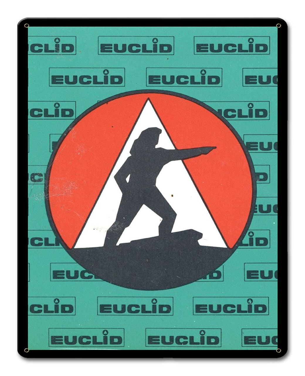 EUCLID Metal Sign 12 x 15 Inches