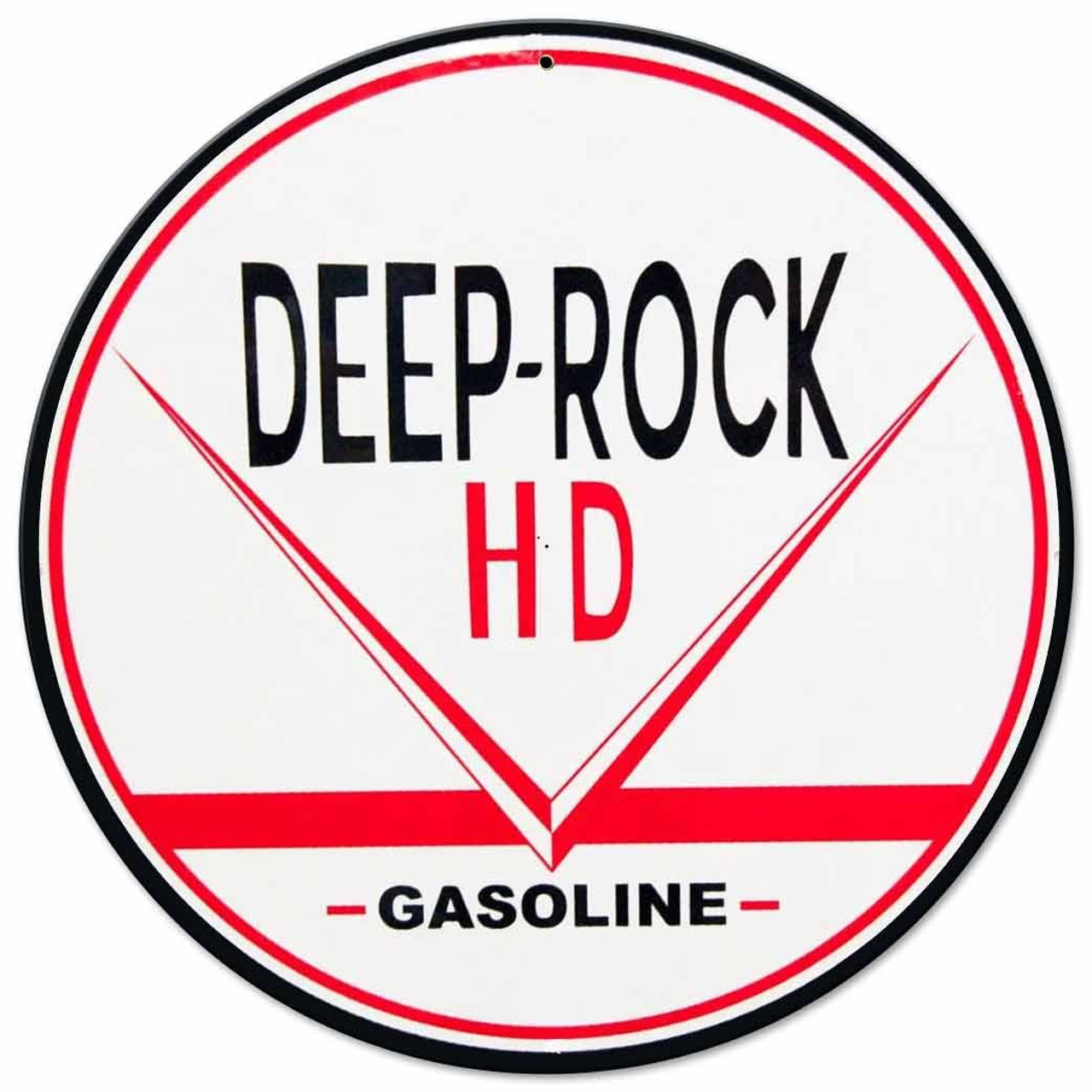 Deep Rock HD Gas Metal Sign 14 x 14 Inches