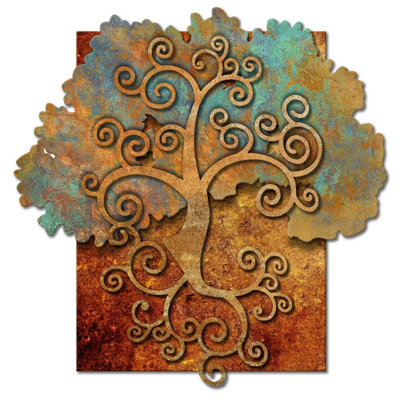 Tree Of Life 3D Rustic Sign 36 x 36 Inches