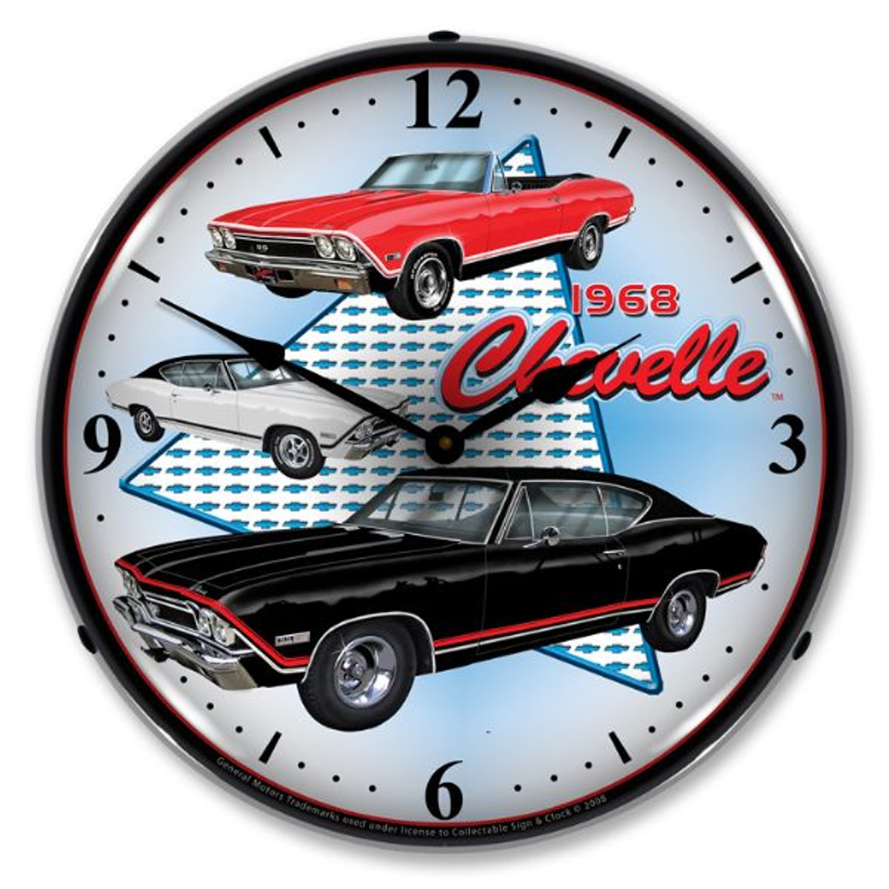 1968 Chevelle Lighted Wall Clock