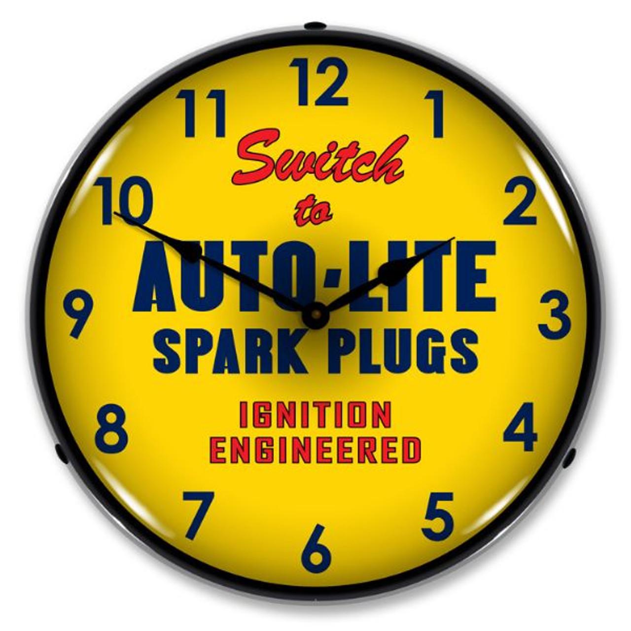 Autolite Lighted Wall Clock