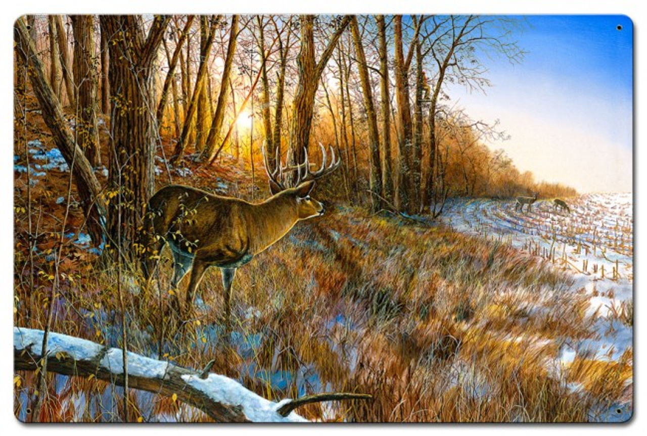 Passing The Buck Metal Sign 24 x 16 Inches