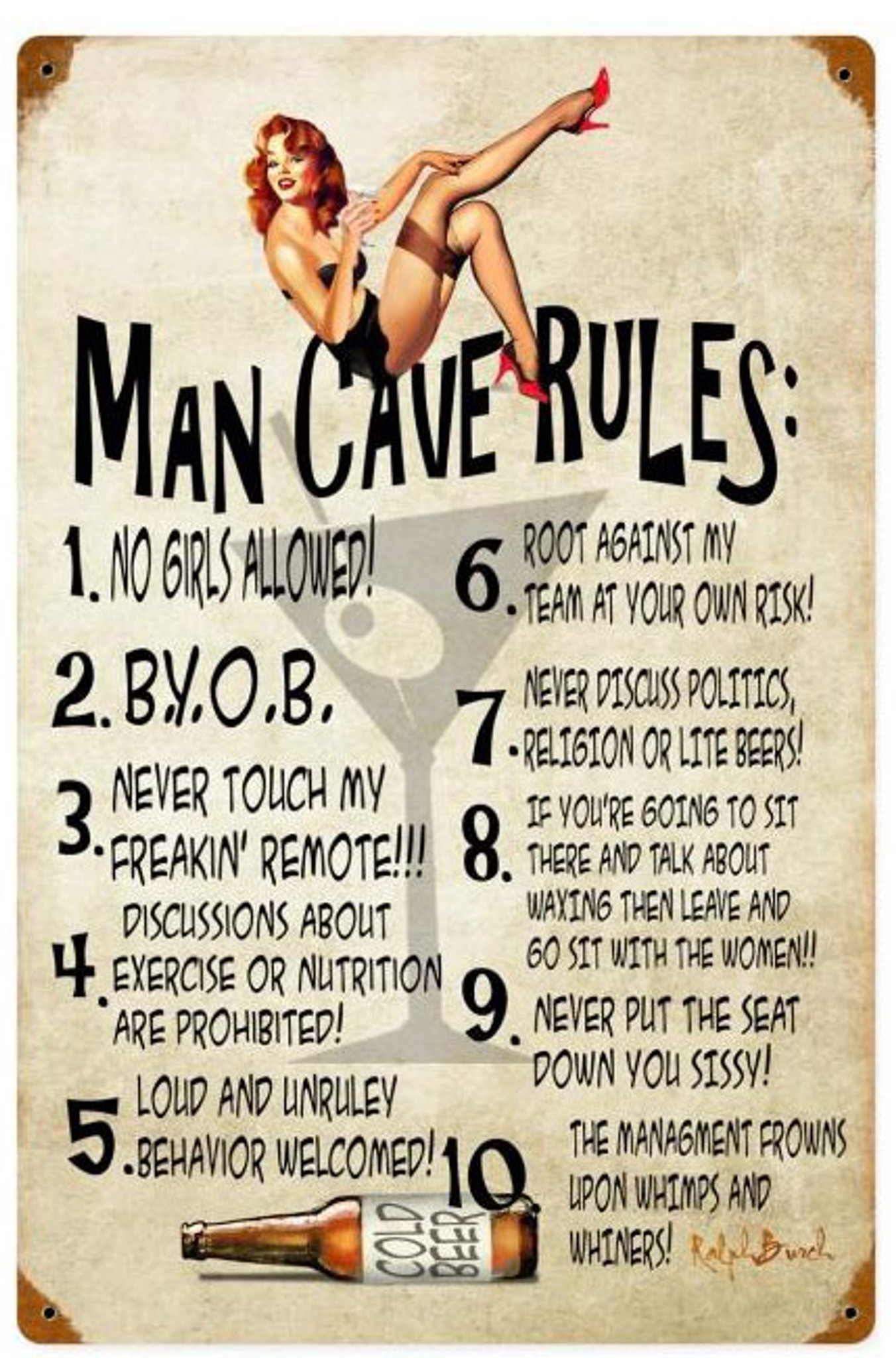 Mancave Modern Man Cave