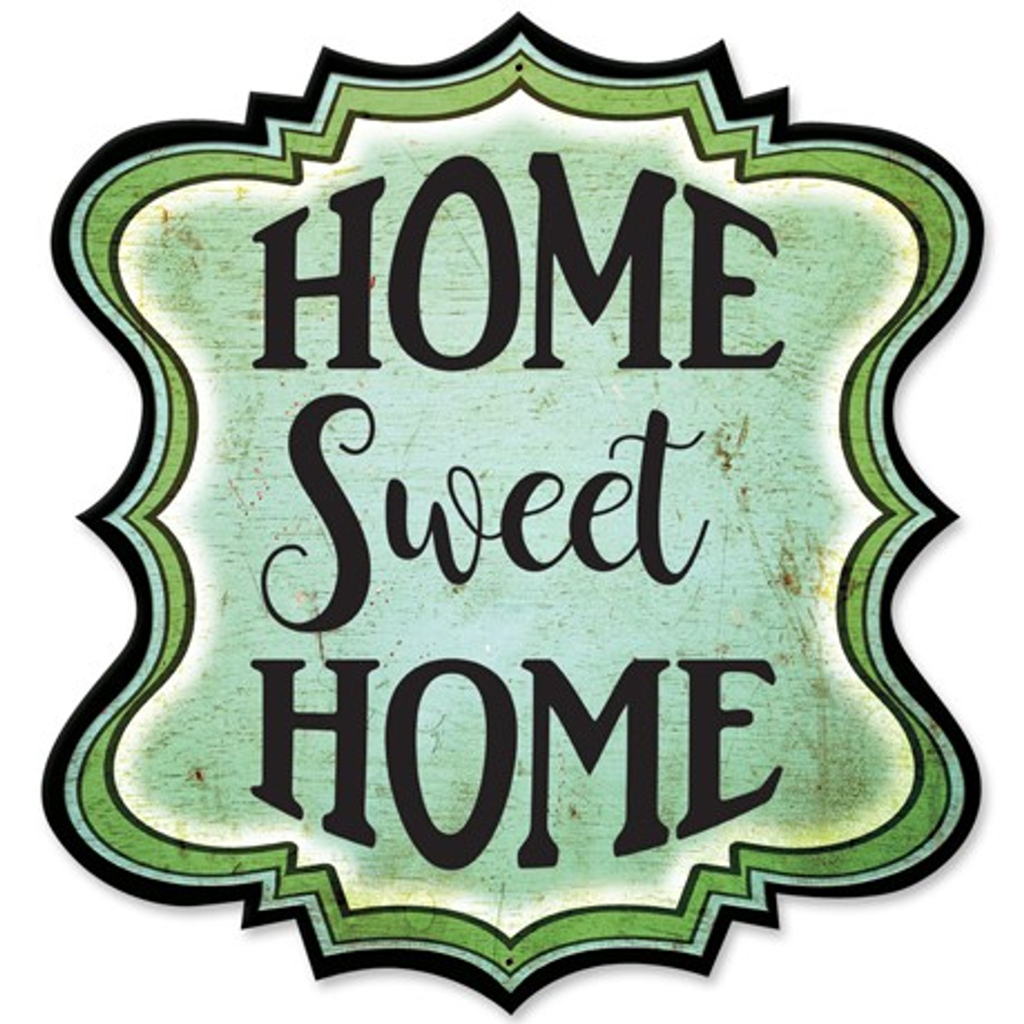 Home Sweet Home Hanging Wall Plaque - Melody Maison®