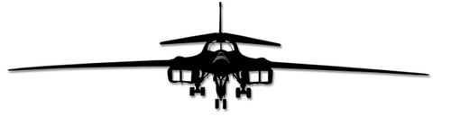 B1b Bomber Metal Sign 46 x 11 Inches