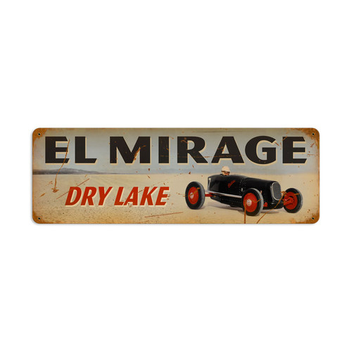 El Mirage Metal Sign 24 x 8 Inches