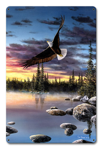 Sky Dancer Metal Sign 12 x 18 Inches