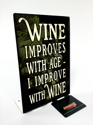 Improve Wine Table Topper 4 x 6 Inches