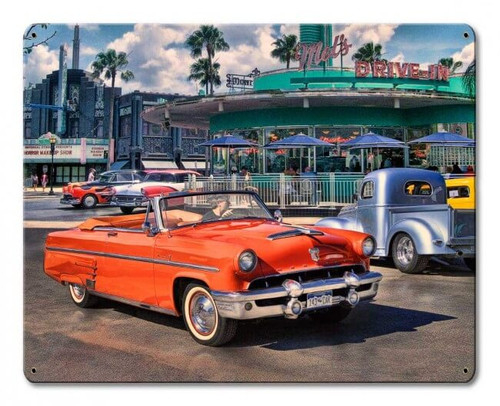 Sunday Cruise Metal Sign 15 x 12 Inches