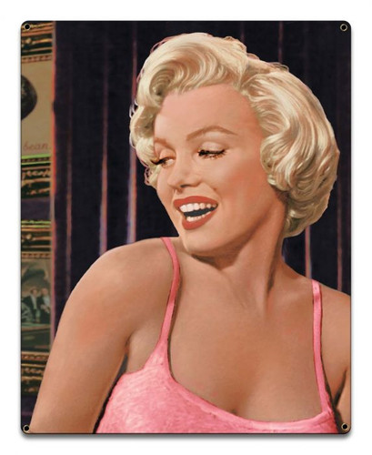 Marilyn Monroe 's Call Metal Sign 16 x 20 Inches