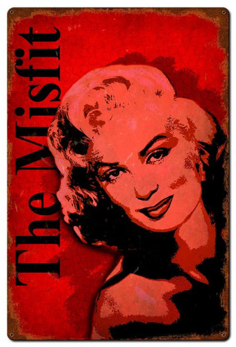 The Misfit Metal Sign 24 x 36 Inches