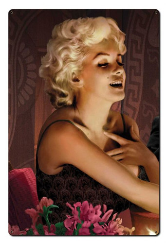 Marilyn's Touch Metal Sign 24 x 36 Inches