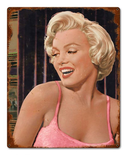 Marilyn's Call Vintage Metal Sign 16 x 20 Inches