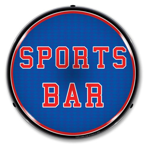 Sports Bar LED Lighted Business Sign 14 x 14 Inches