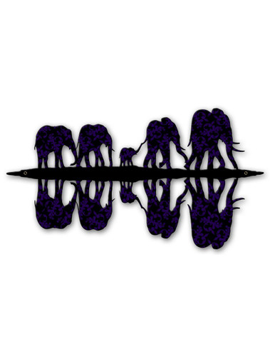 Five Elephants Metal Sign 22 x 12 Inches
