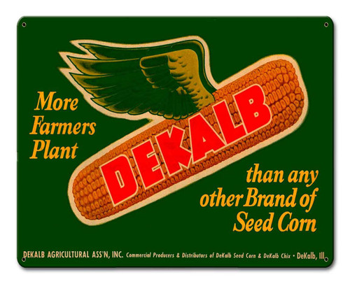 Dekalb Metal Sign 15 x 12 Inches