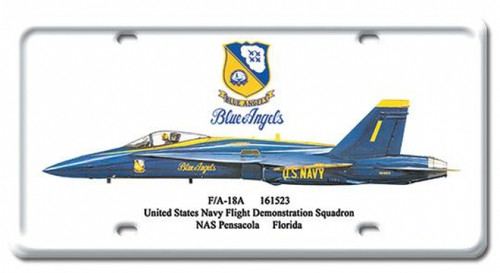 Vintage FA-18A License Plate 6 x 12 Inches