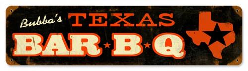 Retro Texas Metal Sign 20 x 5 Inches