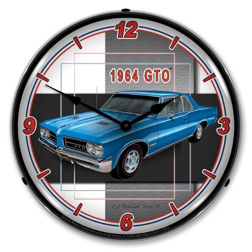 1964 GTO Lighted Wall Clock