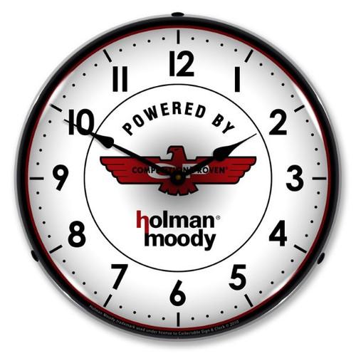Holman Moody Lighted Wall Clock