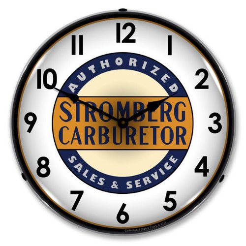 Stromberg Service Lighted Wall Clock