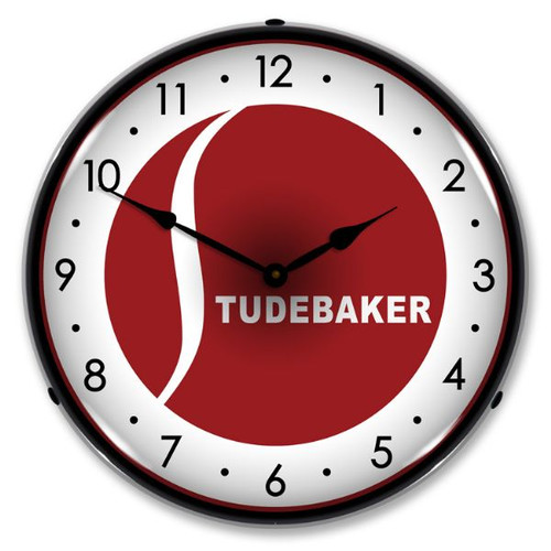 Studebaker Lighted Wall Clock