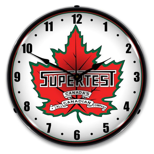 Super Test Lighted Wall Clock
