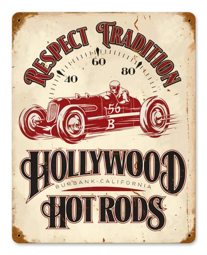 Vintage Fast 56 Metal Sign 11 x 14 Inches