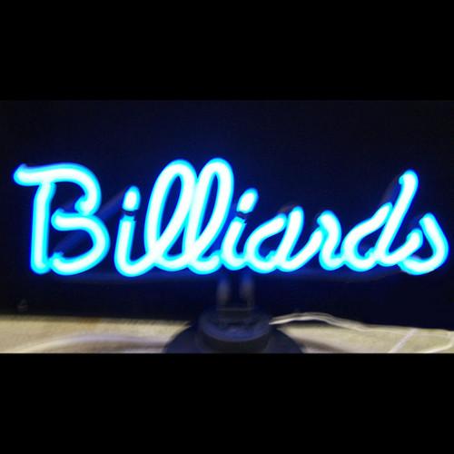 Retro Billiards Neon Sculpture  18 W  X 5 H X 6 D