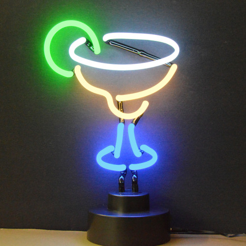 Retro Margarita Neon Sculpture  8 W  X 14 H X 6 D