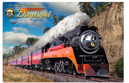 Daylight Metal Sign 36 x 24 Inches