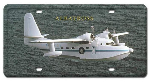 Vintage Albatross License Plate 6 x 12 Inches