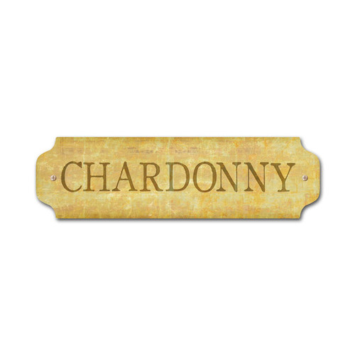 Vintage Chardonny Door Push 12 x 3 Inches