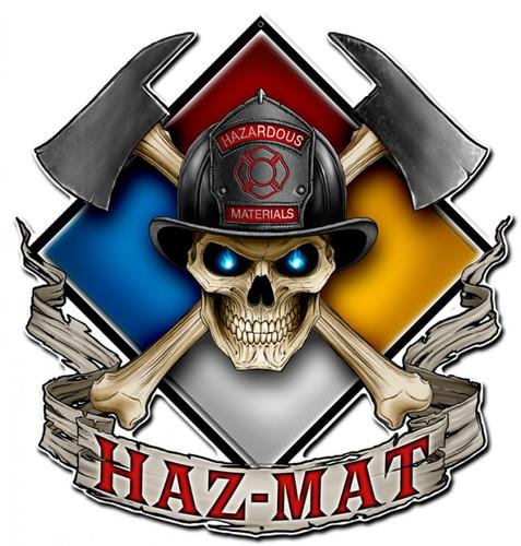 Haz Mat Metal Sign 16 x 16 Inches
