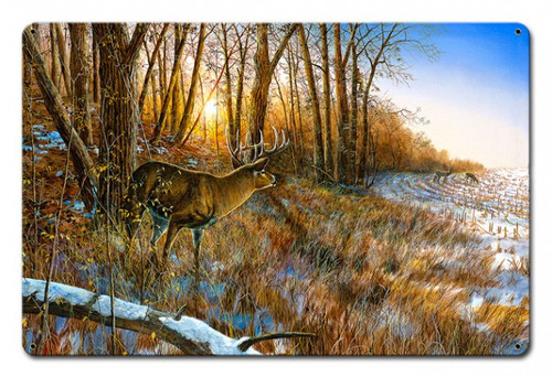 Passing The Buck Metal Sign 18 x 12 Inches