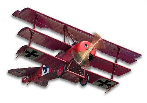 Fokker Tri-plane Metal Sign 19 x 14 Inches