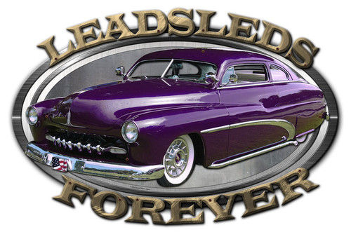 3-D Layered Leadsleads Forever Metal Sign 24 x 16 Inches
