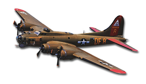 B-17 Flying Fortress Metal Sign 18 x 9 Inches