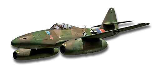 Me-262 Jet Metal Sign 16 x 6 Inches