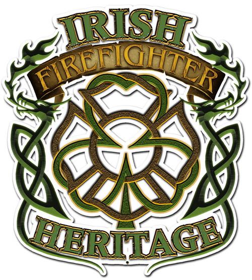Irish Heritage Metal Sign 16 x 20 Inches