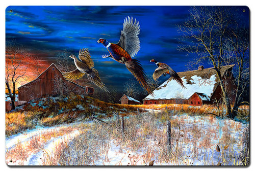 Homestead Metal Sign 24 x 16 Inches